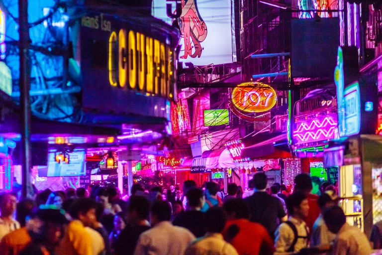 Soi Cowboy, the heart of Bangkok's red light distrcit | © Christopher PB/Shutterstock