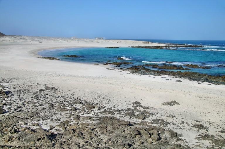 White sand on Masirah Island, Oman | © Przemyslaw Skibinski/Shutterstock