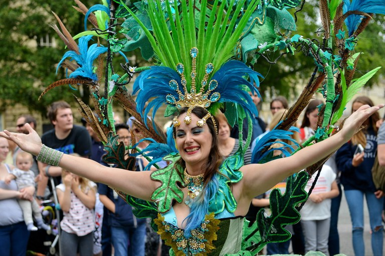 Dancer at Bath Carnival | © 1000 Words/Shutterstock