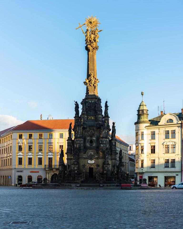 Holy Trinity Column in Olomouc, Czechia | © 54115341/Shutterstock