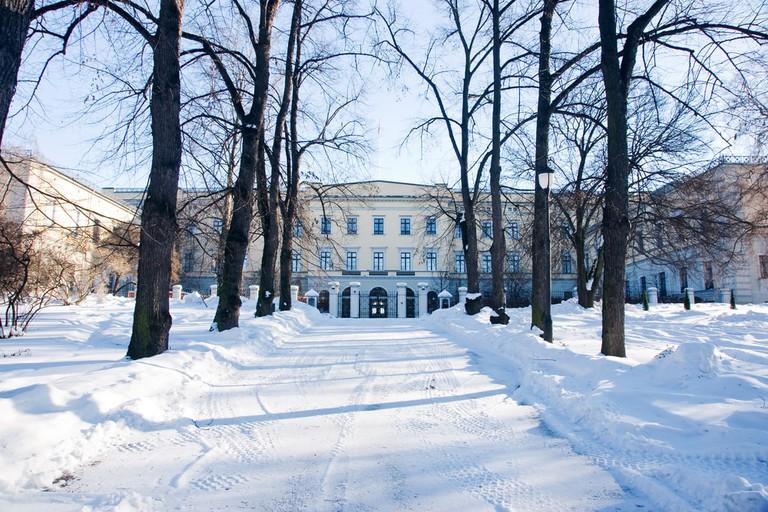 Oslo's Royal Castle in the snow | © byggarn.se/Shutterstock