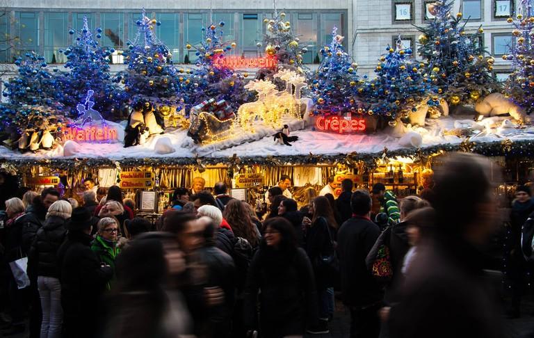 Picturesque Christmas market in Stuttgart | © DS_93/Shutterstock
