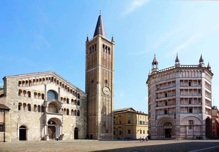 Cathedral and Baptistery on Piazza del Duomo in Parma city, Italy | © Mikedotta/Shutterstock