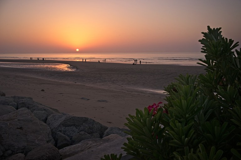 A sunset view at the corniche in Al Qurum, Muscat, Oman | © Radzimy/Shutterstock