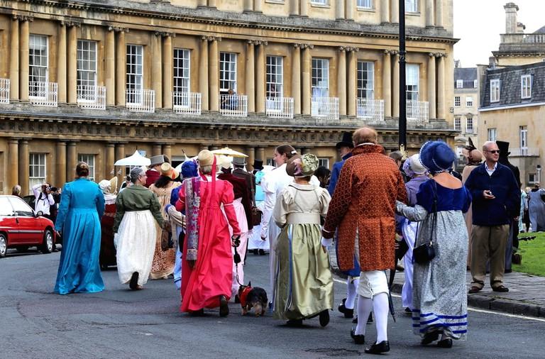 Regency Costumed Promenade, Bath | © tviolet/Shutterstock