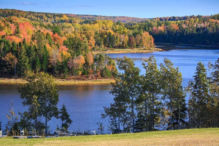 Autumn colors on Prince Edward Island