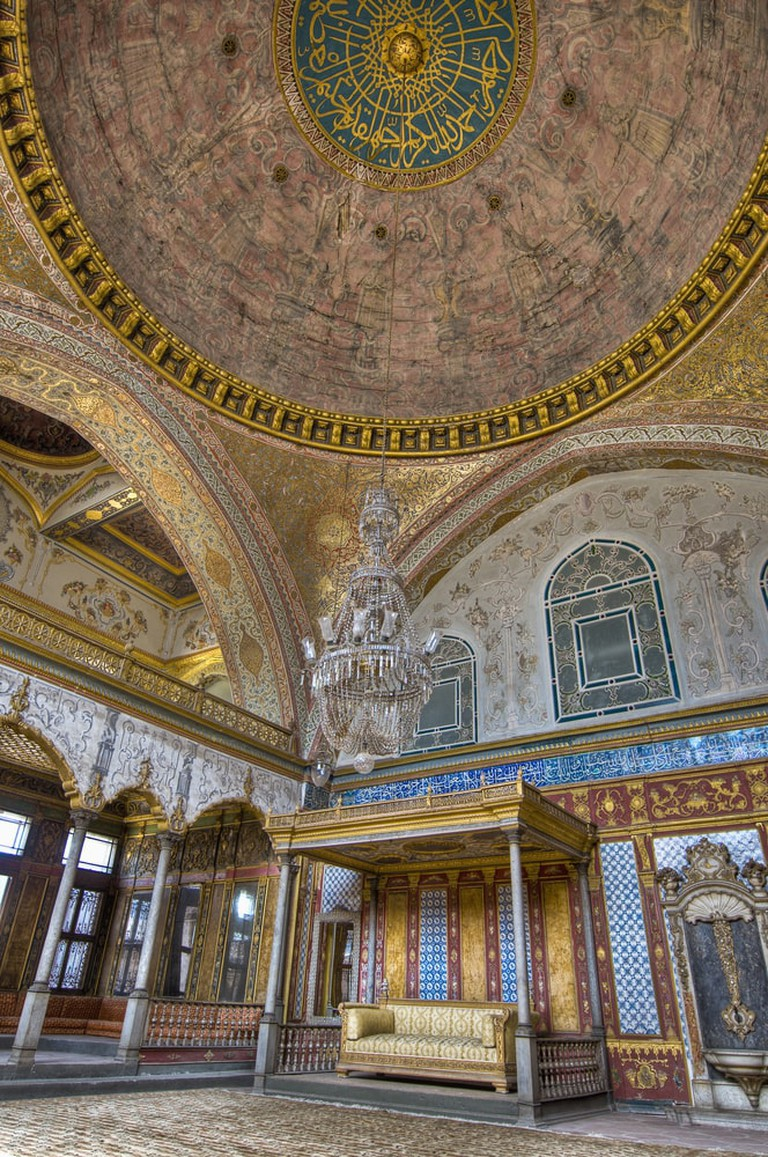 Harem main bedroom within Topkapi Palace at Istanbul   © Anibal Trejo/Shutterstock