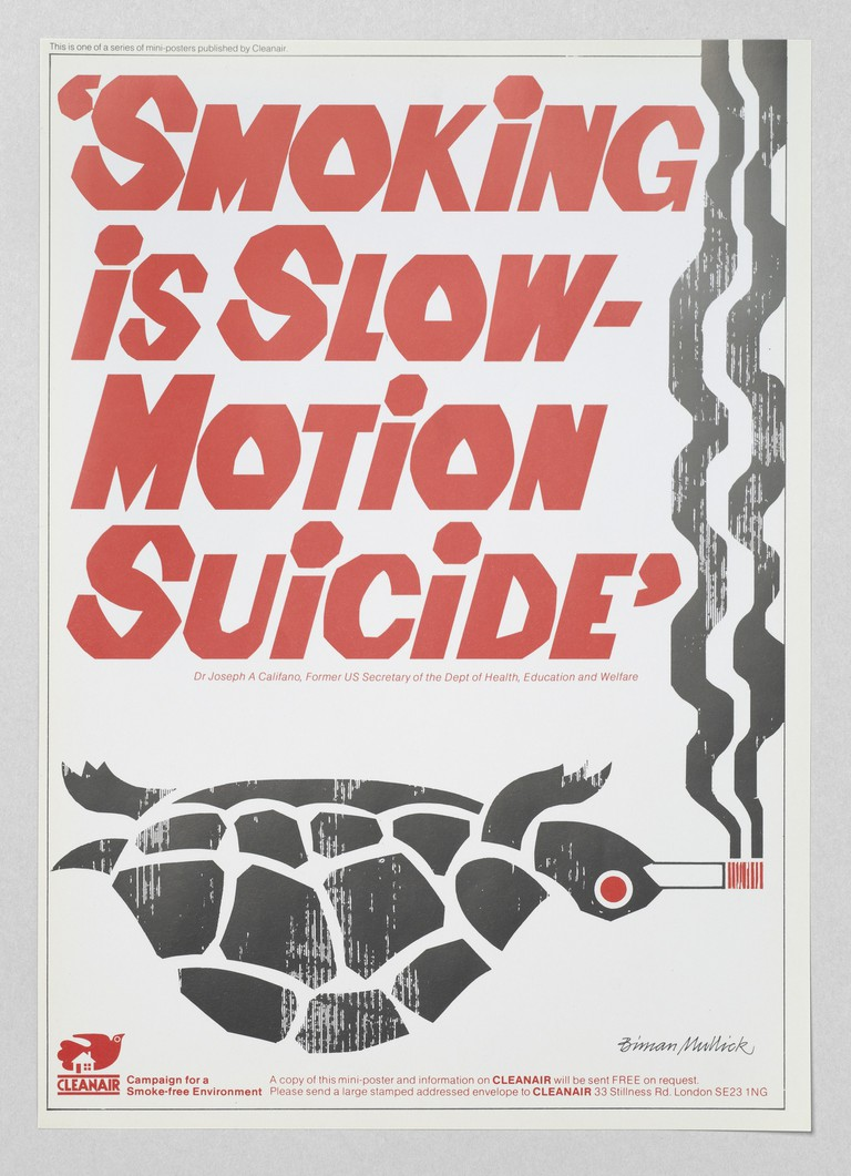 'Smoking is Slow Motion Suicide', Biman Mullick for Cleanair
