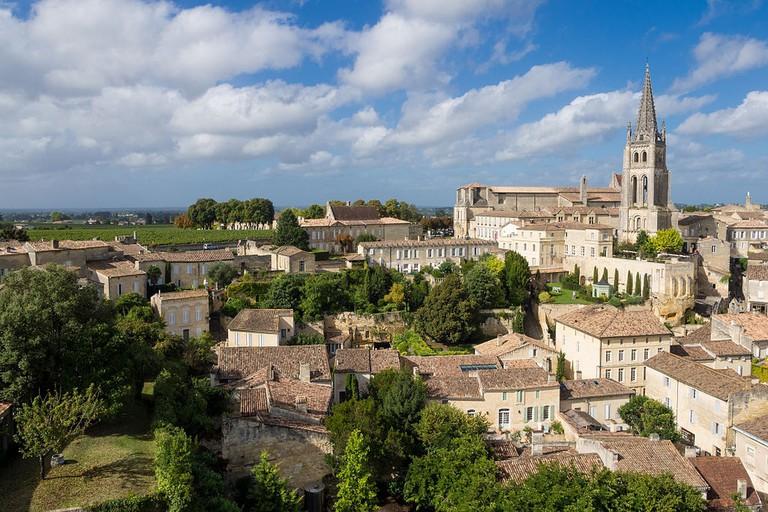 Splendid view over Saint-Émilion