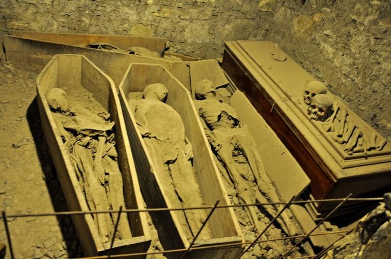 Mummies in St Michan's Church