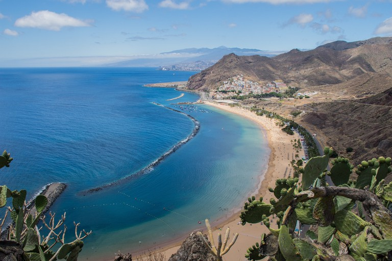Enjoy stunning views like these on the Tenerife Bluetrail