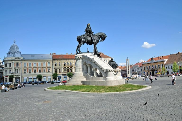 Statue of Matthias Corvinus