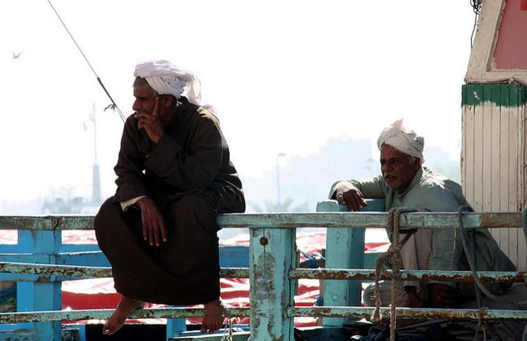 Local Emirati fishermen
