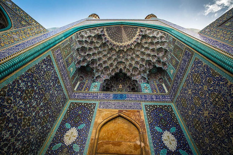 Stunning architecture in Isfahan