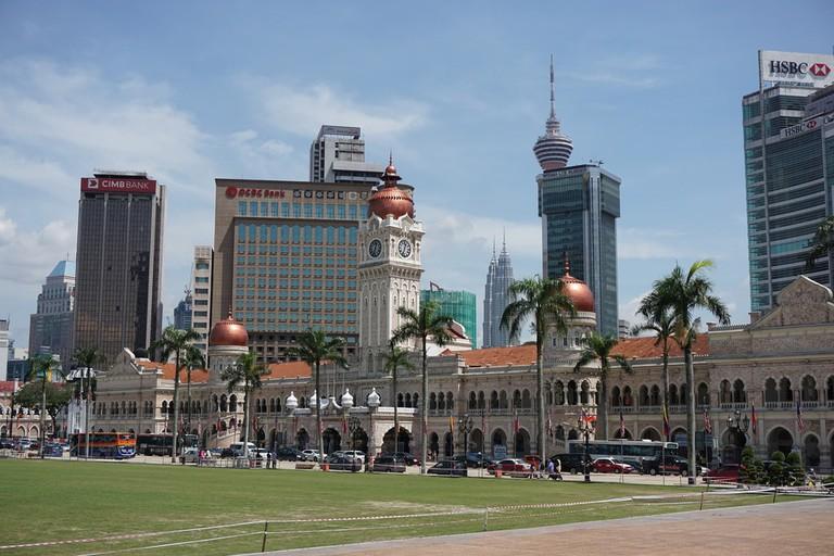 Sultan Abdul Samad Building next to Dataran Merdeka