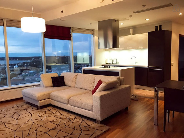 Superior apartment on the 20th floor