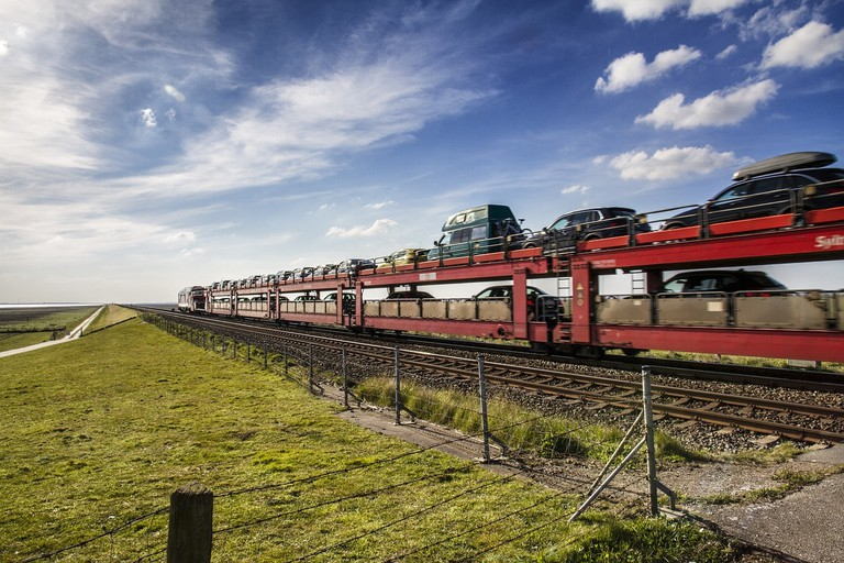 DB Car Train on Sylt