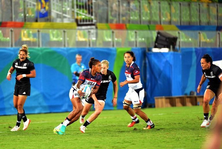 Women's rugby, USA versus New Zealand, 2016
