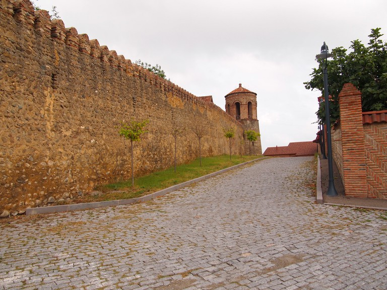 City walls in Telavi