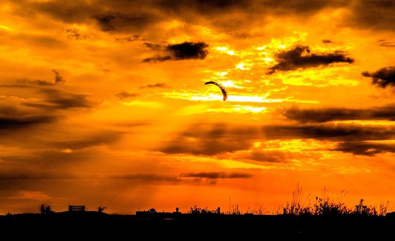 Autumn sky over Tempelhofer Feld | © sebaso / Flickr