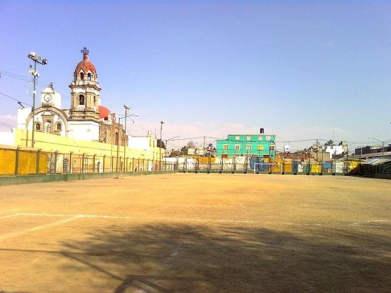 Tepito soccer field