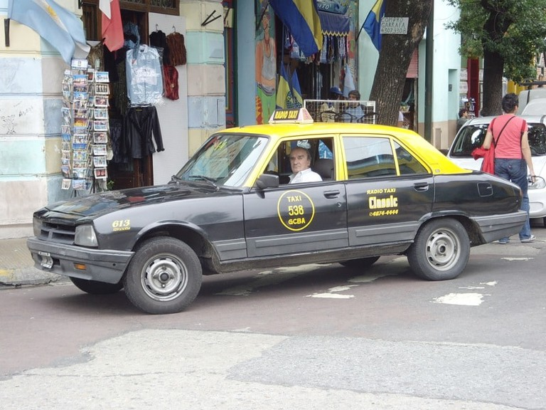 Taxi drivers in Argentina are a strange bunch