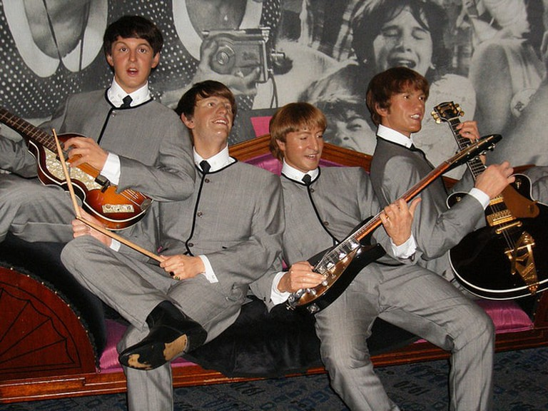 The Beatles at Madame Tussauds