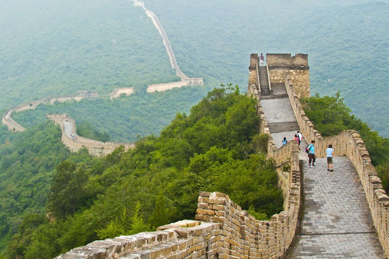 The Great Wall in Mutianyu, China | © Colin Capelle / Flickr