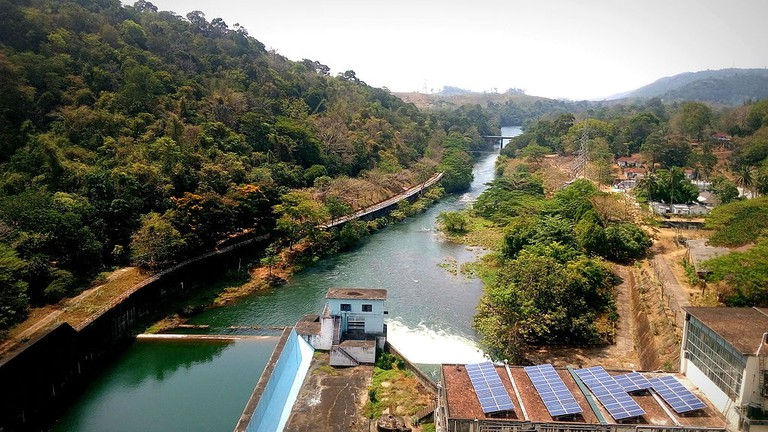 View from Thenmala Dam
