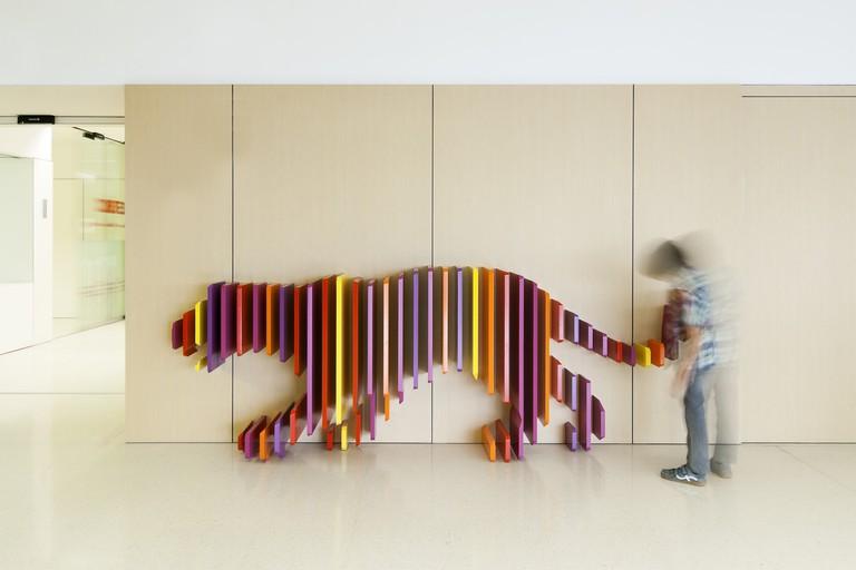 Tiger, Hospital Sant Joan de Déu, Barcelona