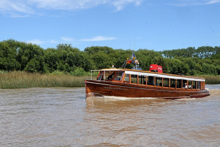 Sail around the Tigre delta
