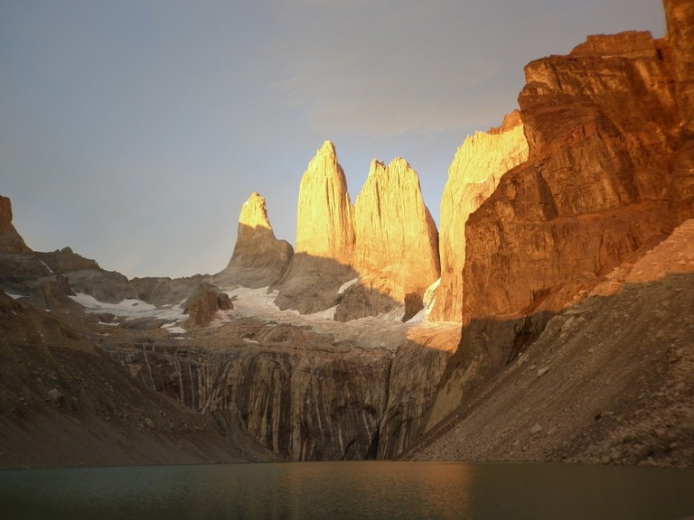 The jagged peaks of Torres del Paine