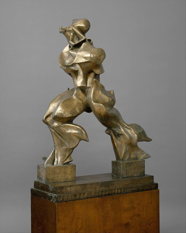 Umberto Boccioni's Unique Forms of Continuity in Space