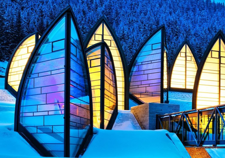 Tschuggen Grand Hotel, Switzerland