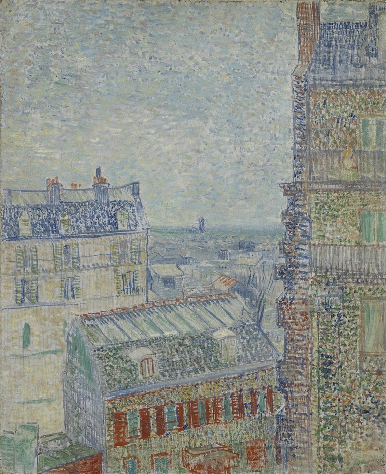 View from Theo's Apartment Vincent van Gogh, 1887