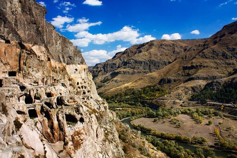 The cave town Vardzia