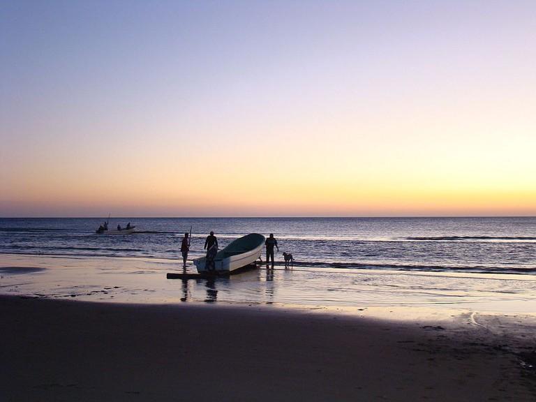 Veracruz fishermen
