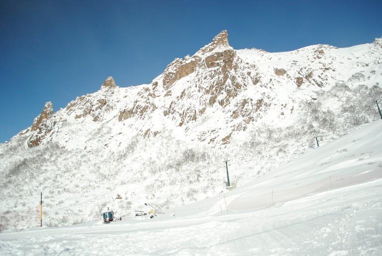 The majestic Cerro Catedral in Bariloche