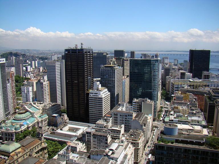 Centro in Rio | © Rodrigo Soldon/WikiCommons