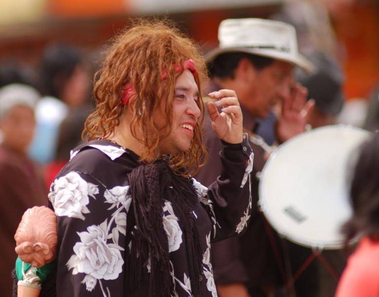 Widow of the old year, Ecuador