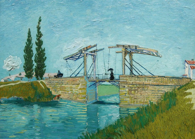 Van Gogh's The Drawbridge (1888) at the Wallraf-Richartz Museum