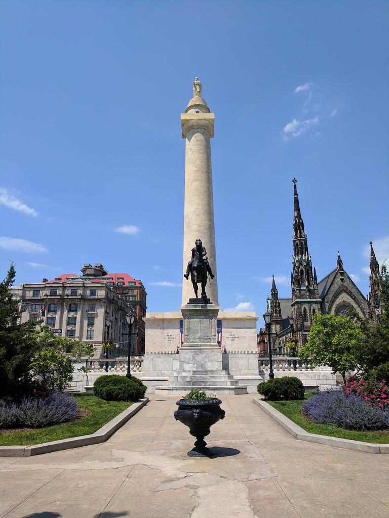 Washington Monument, Mount Vernon, Baltimore