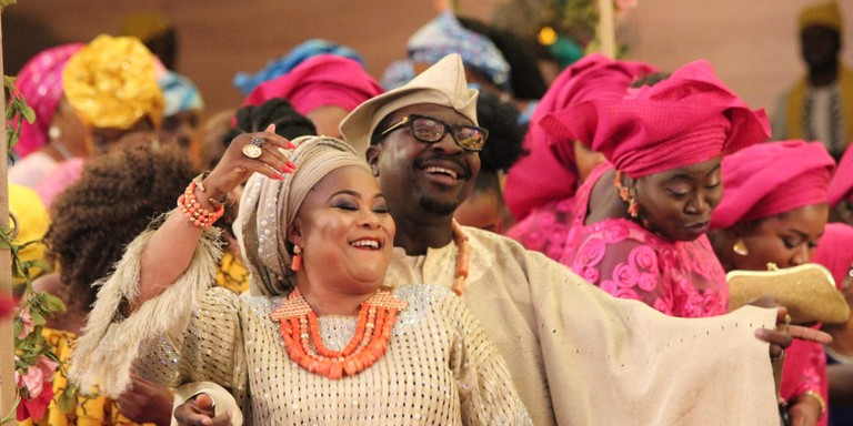 Wedding Party, the quintessential Nigerian movie about the Owambe spirit of Nigerian Parties