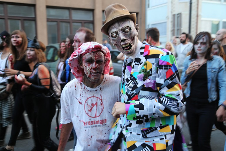 Zombie Walk at Grossmann Festival