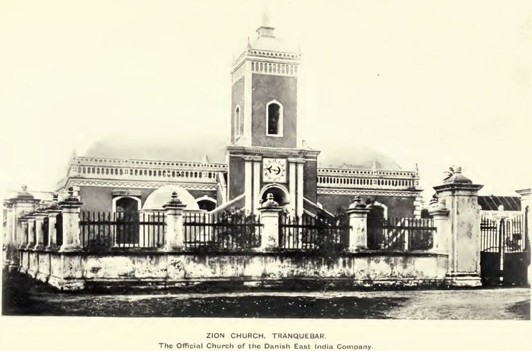 Zion Church was the first Protestant church in India