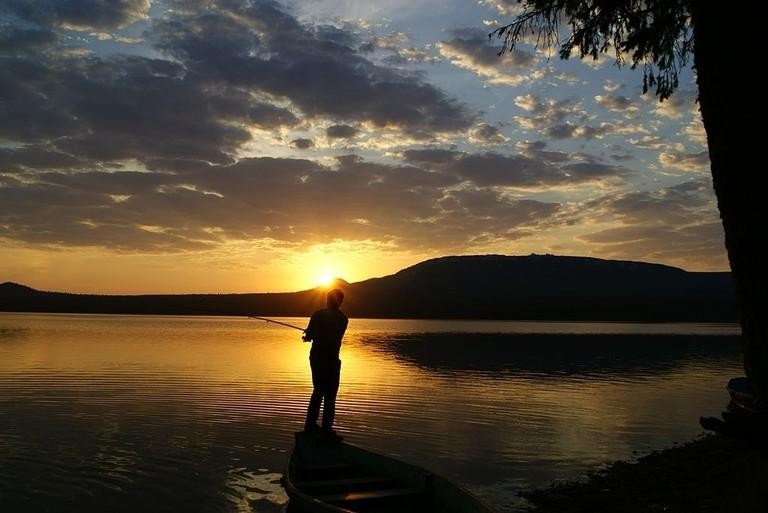 Sunset at Zyuratkul Lake
