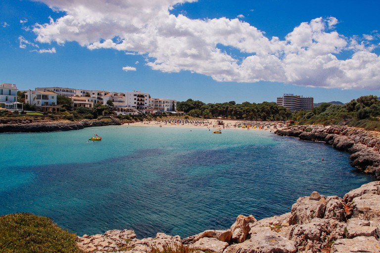Majorca is a popular destination with British tourists