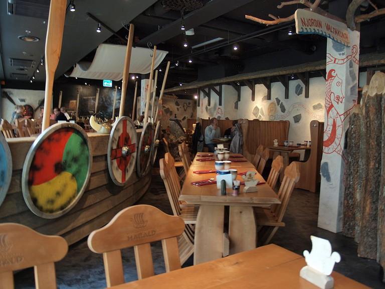 Viking restaurant in Helsinki