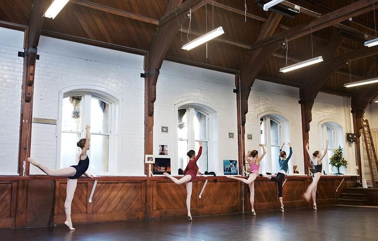 Dance class, Christchurch, NZ, 2006