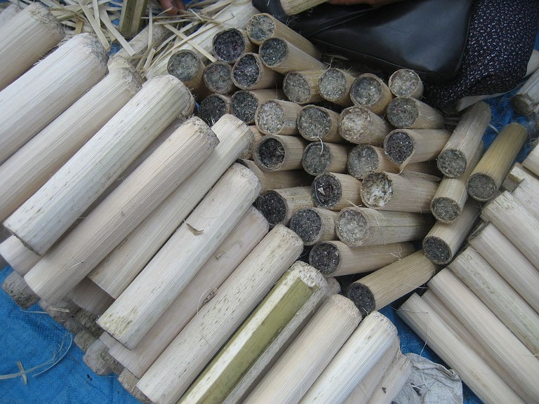 Bamboo Sticky Rice | ©Wagaung/WikiCommons